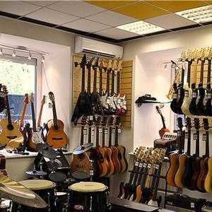 Музыкальные магазины Дубовки
